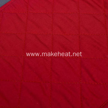 Aluminum Plate Warmer With Red Cotton Cover