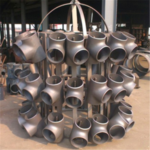 Carbon Steel Tee With Shot Blasting