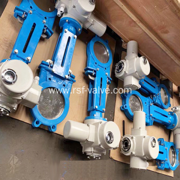 Electric Atuator Knife Gate Valve