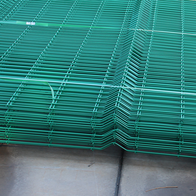 beautiful V-curves weld wire mesh fencing panel