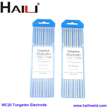 WC20 Tungsten Electrode For Tig Welding