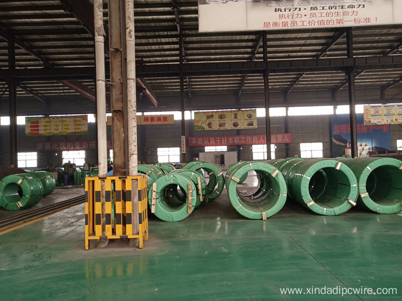 ASTM 12.7mm PC steel Strand 1860MPa
