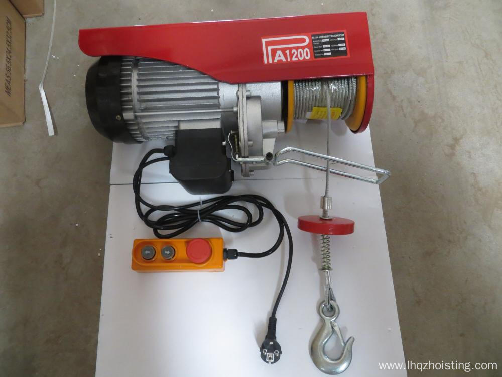 Mini Wire Rope Electric construction Hoist Winch