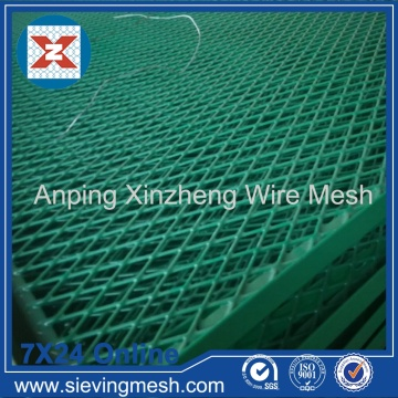 Pvc Coated Expanded Metal Mesh Fence
