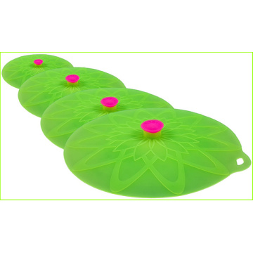 Factory Price Silicone Lily Seal Lid Set