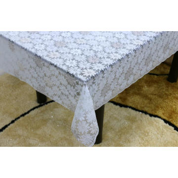 alternative Printed pvc lace tablecloth by roll