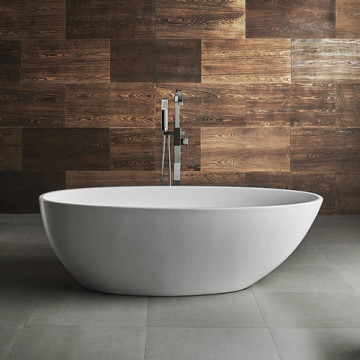 New Design Freestanding Shallow Sitting Bathtub