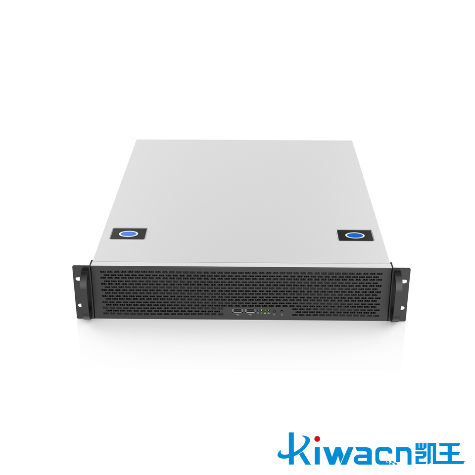 2u rack industrial control chassis