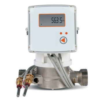 DN15 mechanical heat meter with M-BUS