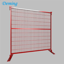 Galvanized and PVC coated temporary fence panels