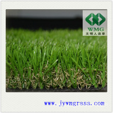 Beautiful Four Colour Landscaping Synthetic Turf Artificial Lawn