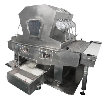Oil spreader for biscuit production line