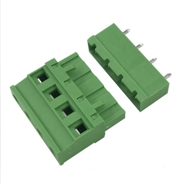 side cable connect 4pin PCB pluggable terminal block
