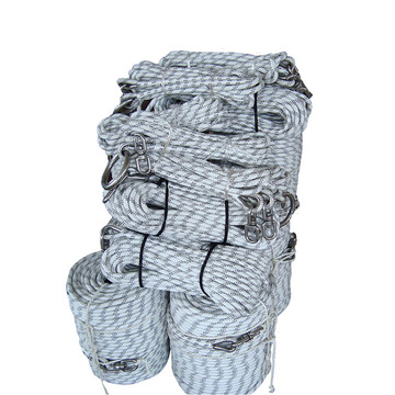 12 strands flat braid UHMWPE rope for yacht