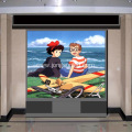 L-shape LED Display Cabinet Indoor Screen
