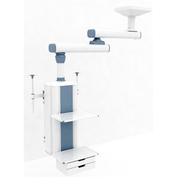 Ceiling type double arm manual surgical pendant