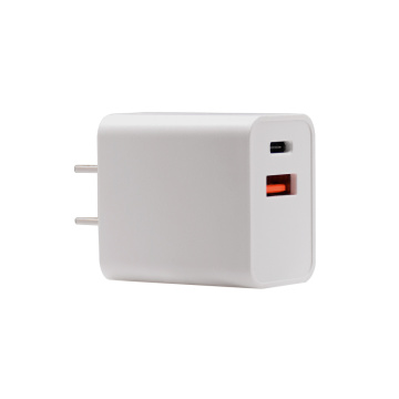Factory Wholesale PQ 18W Fast Charger US/UK/EU/AU Plug