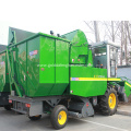 self propelled corn maize picker cutter harvester