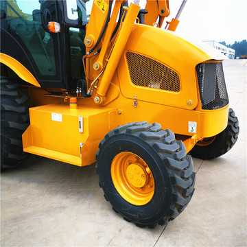 4 Wheel Drive Backhoe Loader