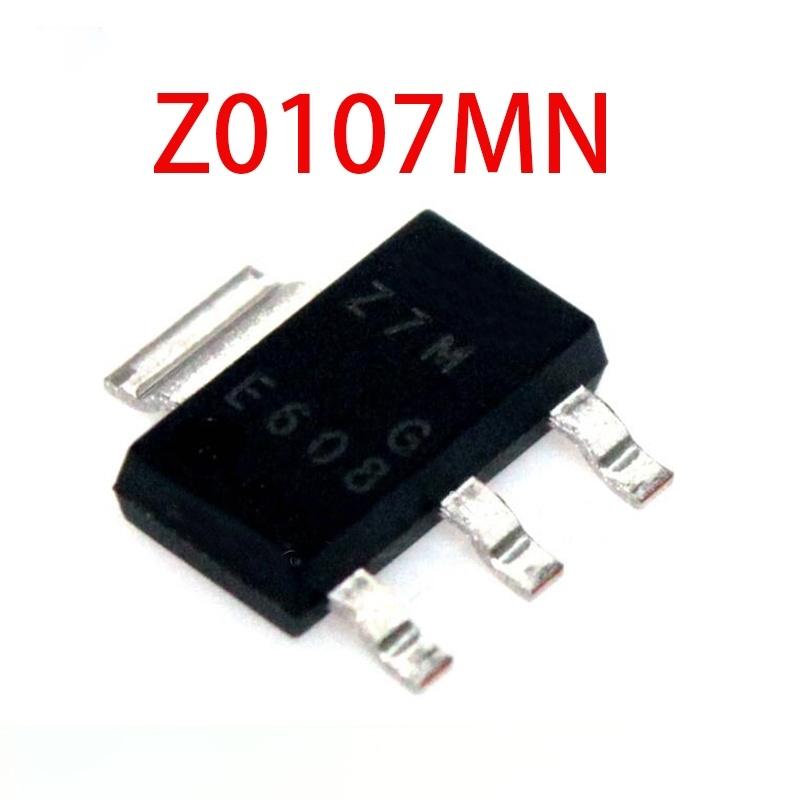 10pcs Z0107MN Z7M SOT-223 Z0107 Z0107M 27M Triac thyristor new original