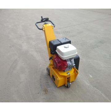 Road milling machine with gasoline engine