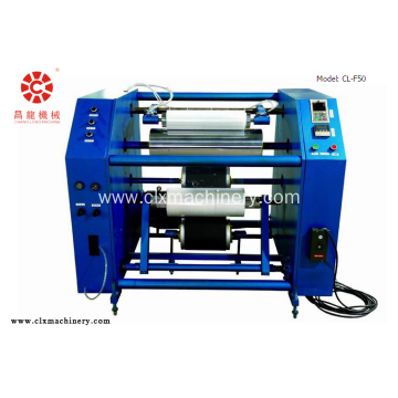 PE Stretch Film Slitter Rewinder Machine