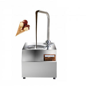Automatic chocolate machinery small chocolate tempering machine for sale
