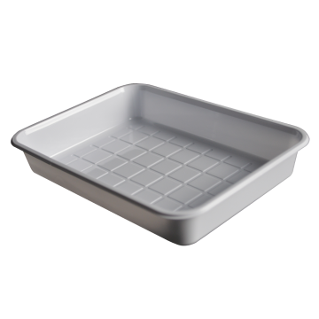 ISO13485 White PS pharmaceutical tray vacuum forming blister