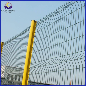 Curvy Welded Fence For Factory