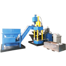 Aluminum Chips Shavings Turnings Briquetting Press Machine