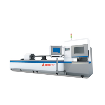 Automatic Pipe Fiber Laser Cutting Machine For Metal/Gold