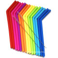 Custom Silicone Replacement Straws Reusable Smoothie Straws