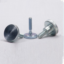 Steel Flat Step Knurled Thumb Nut Screw