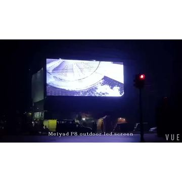 Digital commercial display led screen advertising outdoor