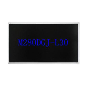 New original 28 inch HD 4K LCD screen module panel M280DGJ-L30 M280DCA-E3B 3840 * 2160 resolution with Driver board Diy display