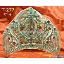 Fashion pageant Crown AB Crystal Crown