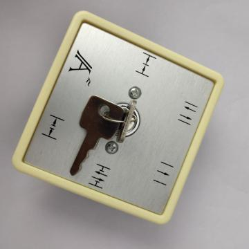 Magnetic electric 5 position key switch