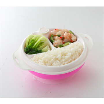 Baby Double Layer Heat Resistant Bowl