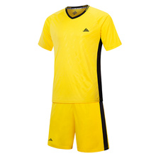 Youth Sport Shirts and Shorts Set, Boys' Soccer Jerseys Sports Team Training Uniform