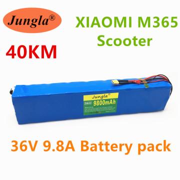 100% 36V 9.8ah scooter battery pack for millet m365 36V 9800mah, BMS electric scooter battery for millet m365