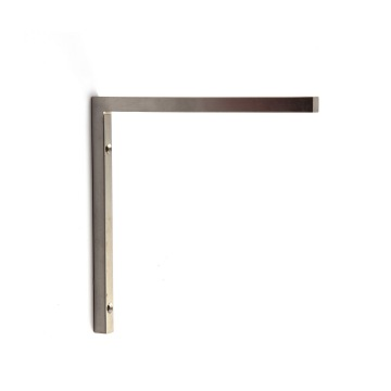 Stainless Steel Floating Wall Shelving Supports Brackets