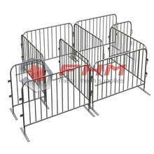 Interlocking Steel Barricade for Crowd Control