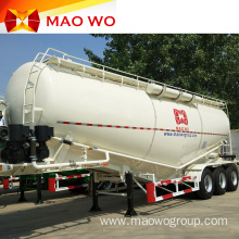 V Type 12 Wheel Bulk Powder Tanker Trailer