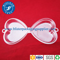 PET Plastic Blister Clear Heart Shape Clamshell