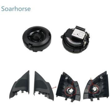 Soarhorse Front door wing mirror Triangle plate Tweeter Speaker Treble Horn for Mitsubishi Lancer EX