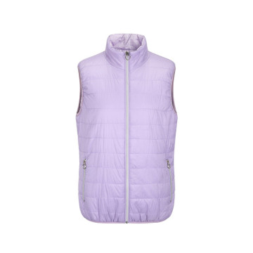 Ladies Woven Wadded Vest