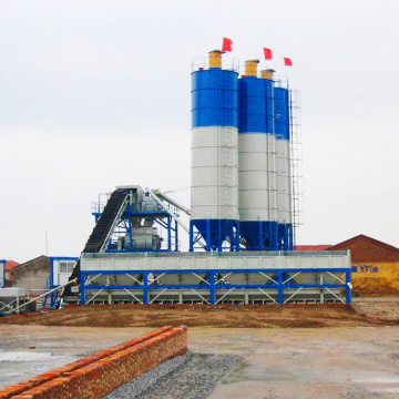 New construction use advanced 60m3/h concrete batching plant