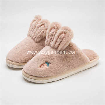 Autumn And Winter Warm Thick Slippers