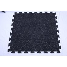 Anti-slip interlock rubber mats for gym