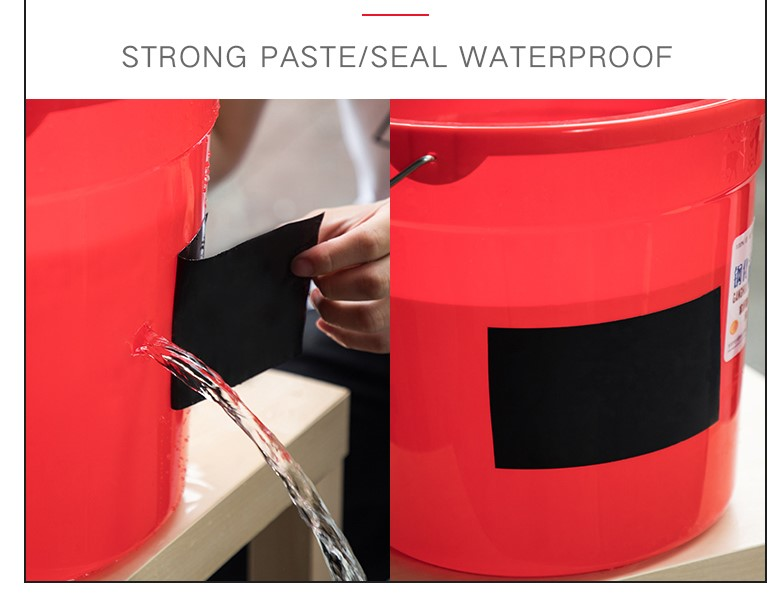 Underwater leakage repair waterproof flex tape
